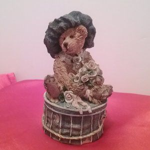 Boyds Bears trinket box